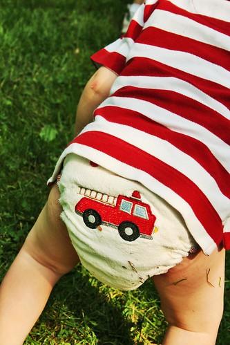 Fire Truck Butt