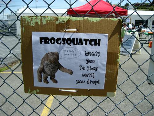 Frogsquatch