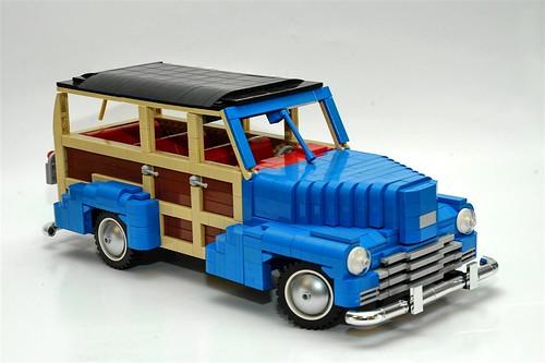LEGO 1948 Chevrolet Fleetmaster station wagon