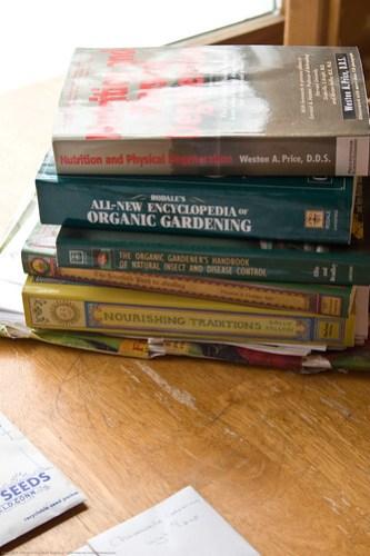 Humble Garden 2009: books