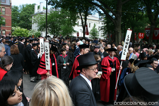 Harvard University 2009 graduation ceremony