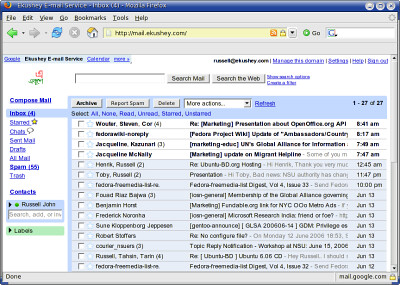 Gmail Powers Ekushey