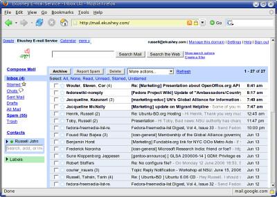 Gmail Powers Ekushey