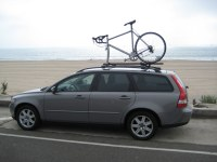It works well and keeps my bike sturdy on top of the roof ...