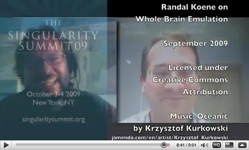 Randal Koene on Whole Brain Emulation