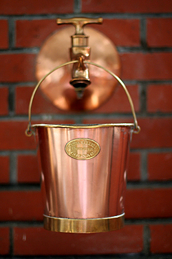 copper bucket