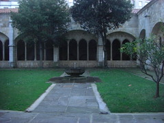 Cloister at Santander Cathedral