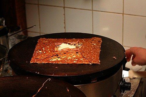 folded galette