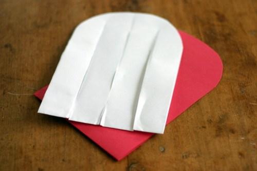 Woven Paper Valentine Hearts - 5
