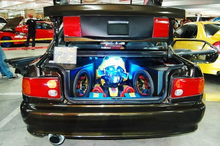 Mitsubish Lancer by Full Throttle Auto Worxs Trunk