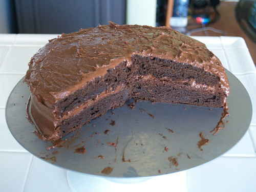 Mexican Hot Chocolate Cake