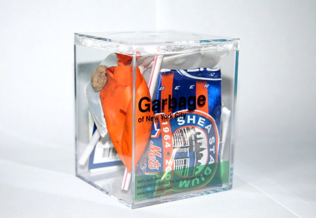 Limited Edition Shea Stadium Garbage Cube