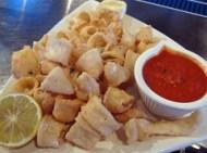 mykonos taverna - kalamarakia tiganita (fried calamari)