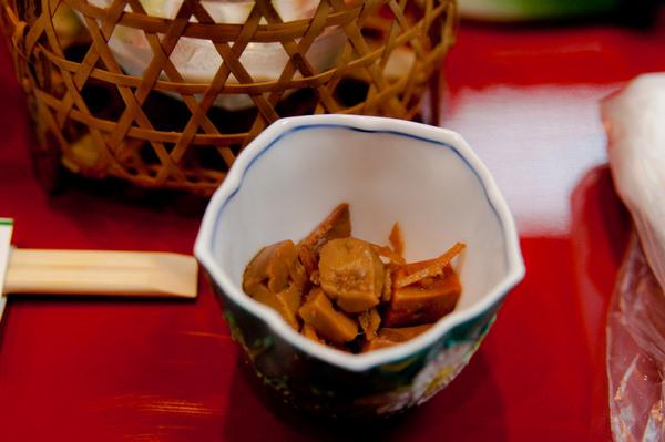 Ryokan dinner - Takayama