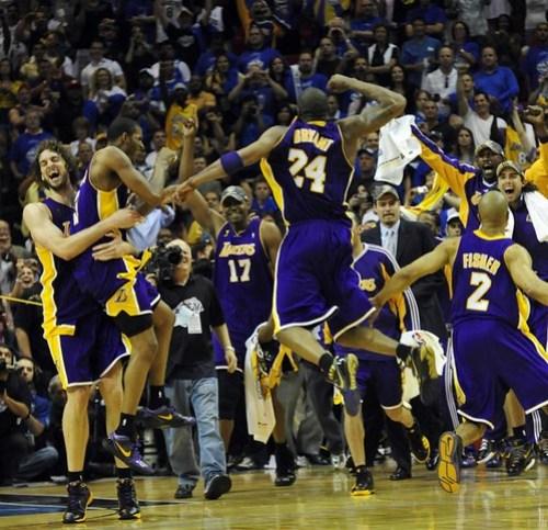 Los Lakers, campeones de 2009