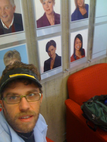at CBC studio