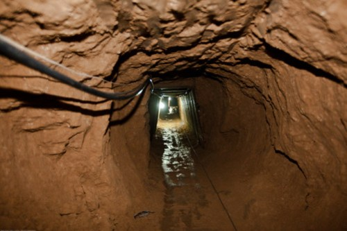 Smuggling Tunnel in Gaza