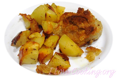 cipolle al forno con patate