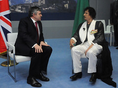 PM with Colonel Qadhafi