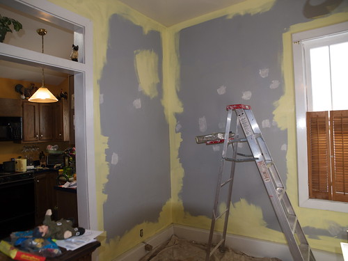 Painting the Staircase Room