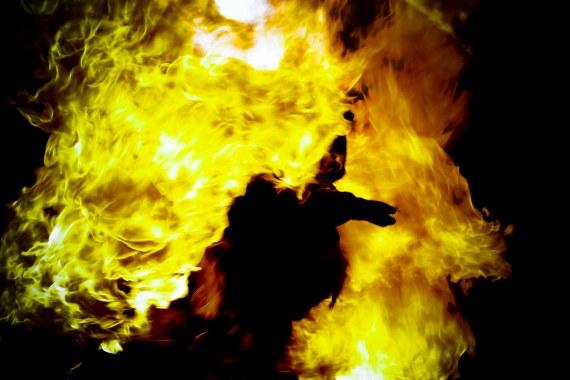 Der Brennende