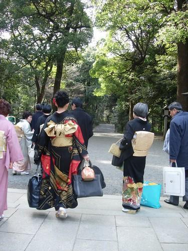 Wedding at Meiji Jingu