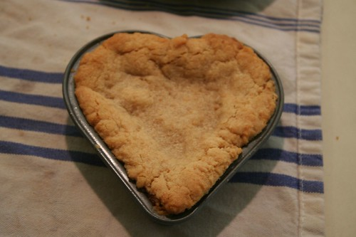 PB heart cookie