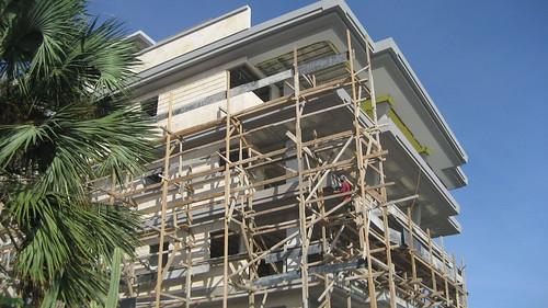 Coral Pyramid Construction