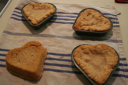 PB Heart Cookies