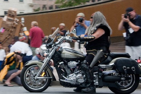 Why WOULDN'T a Klingon Ride a Motorcycle?