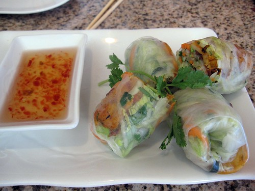 co'm grill - shrimp spring rolls by you.