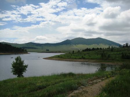 Pinewod Reservoir Near Loveland, Colorado