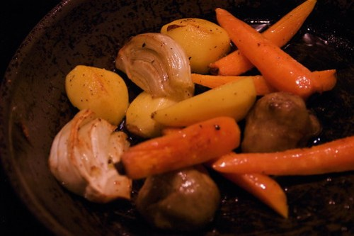 winter root vegetables are still here.
