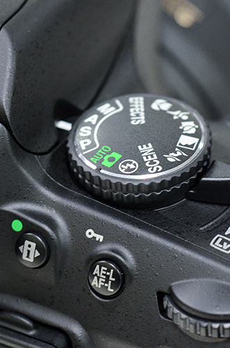 Nikon D5100 mode dial video manual exposure a s m aperture shutter