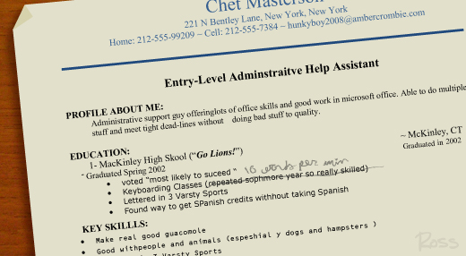 Your Resume « Wait For It\u2026 - how to word skills on a resume
