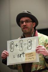 Art = craft + intent x integrity