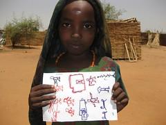 girl w drawing