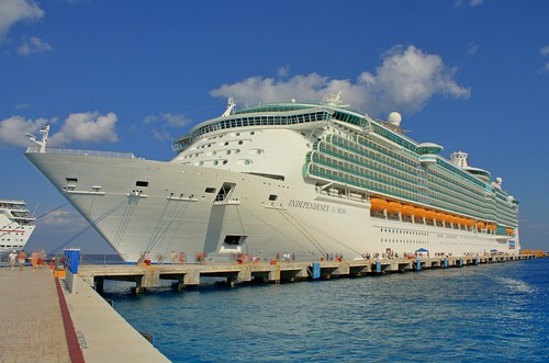 Independence of the Seas at Cozumel