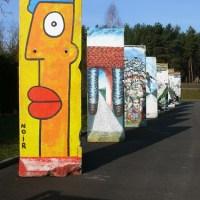 Mauerkunst zwischen Wildau und KW