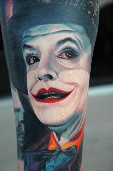 3778234377 a4d133d0f7 o As melhores tatuagens do Coringa: galeria de fotos