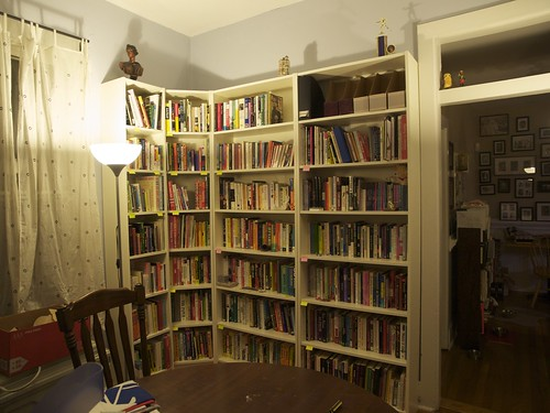 Final Bookshelves in Place