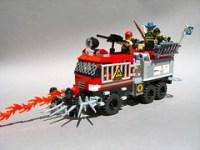 LEGO S&S Wildland Ultra XT zombie defense platform