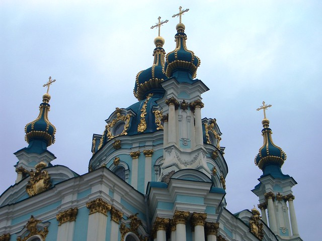 St Andrew's Cathedral, Kiev