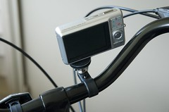 Camera Mount on the Bike (rear)