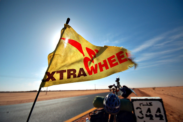 Extrawheel in the Sahara