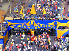 Boston Marathon Finish Line