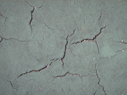 Cracks from Tennis Court - #5