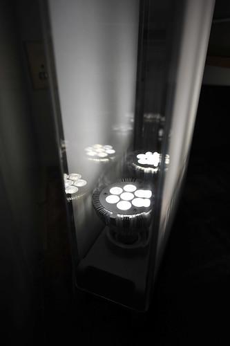 The PAR-30 LEDs fit