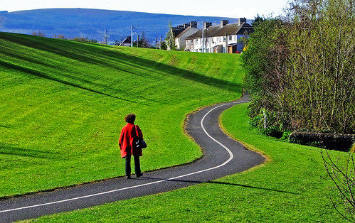 Up the winding path