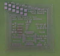 etching - PCB test patterns to assess etch quality ...